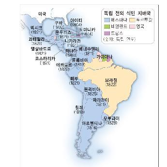 라틴아메리카의독립